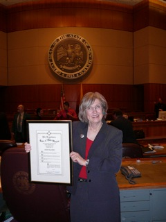 Dede Feldman's 16 years of experience in the New Mexico state legislature apply nationwide.